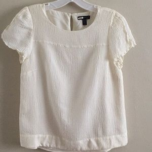J Crew silk/viscose dressy blouse 8
